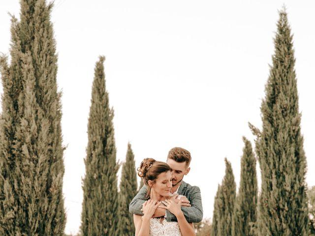 Le mariage de Erwan et Kim à Lussan, Gard 89