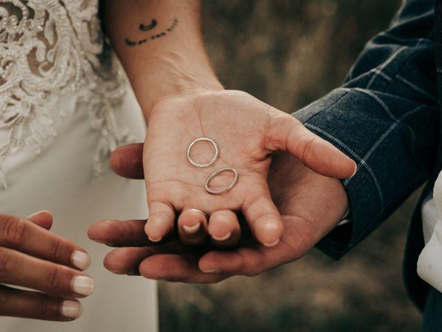 Le mariage de Erwan et Kim à Lussan, Gard 90