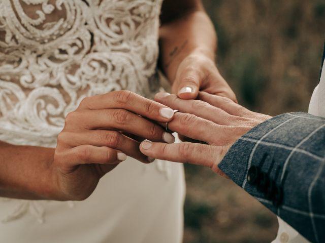 Le mariage de Erwan et Kim à Lussan, Gard 91