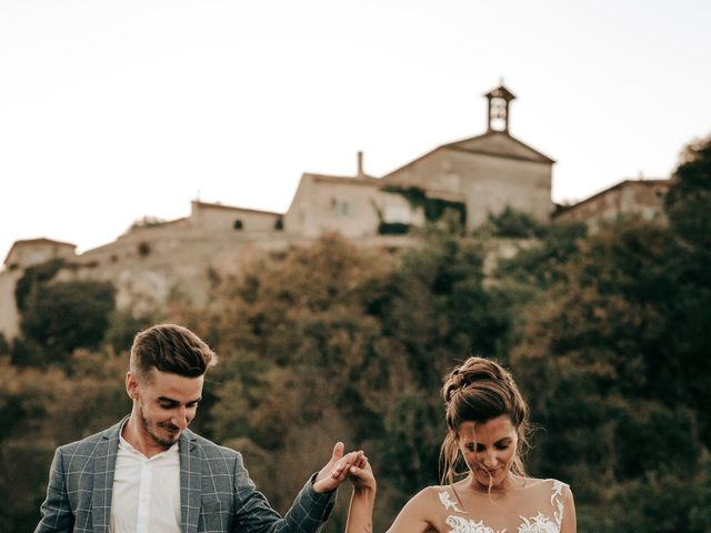 Le mariage de Erwan et Kim à Lussan, Gard 96
