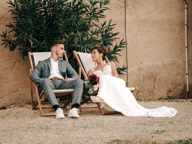 Le mariage de Erwan et Kim à Lussan, Gard 99