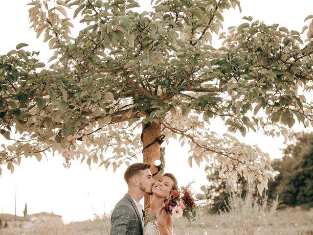 Le mariage de Erwan et Kim à Lussan, Gard 100