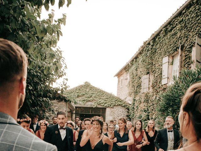 Le mariage de Erwan et Kim à Lussan, Gard 103