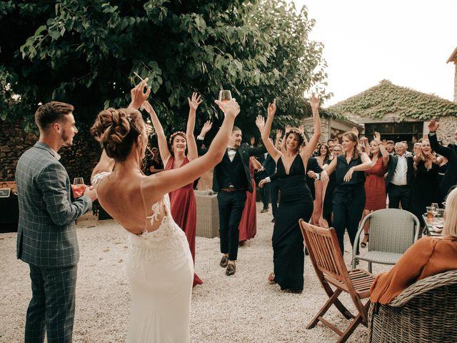 Le mariage de Erwan et Kim à Lussan, Gard 104