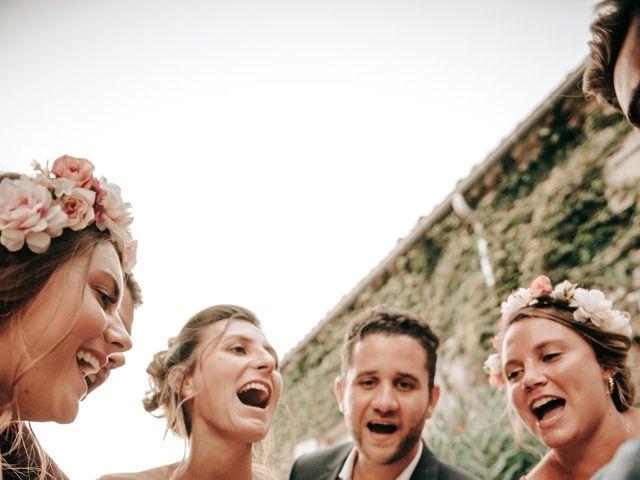 Le mariage de Erwan et Kim à Lussan, Gard 107