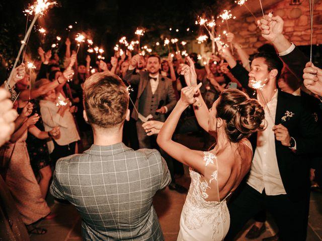 Le mariage de Erwan et Kim à Lussan, Gard 2