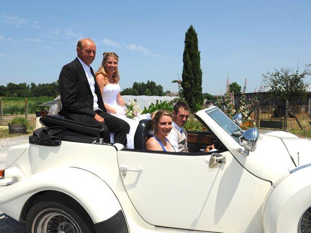 Le mariage de Thomas et Aurélie à Martillac, Gironde 10