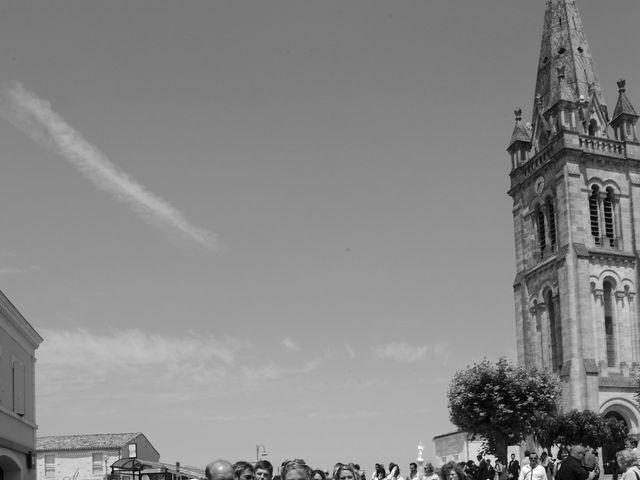 Le mariage de Thomas et Aurélie à Martillac, Gironde 11
