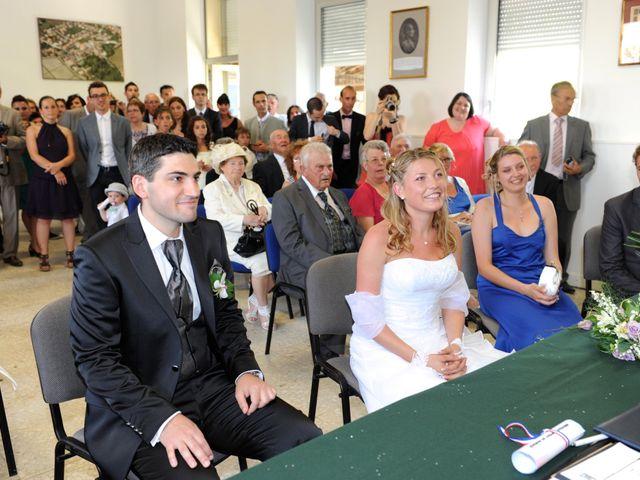 Le mariage de Thomas et Aurélie à Martillac, Gironde 15