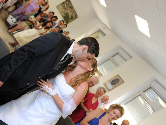 Le mariage de Thomas et Aurélie à Martillac, Gironde 17