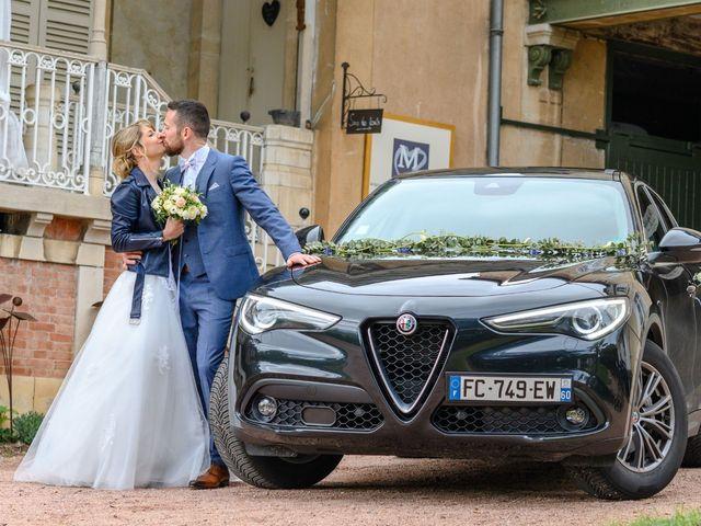 Le mariage de Bastien et Clémentine à Fleurie, Rhône 34