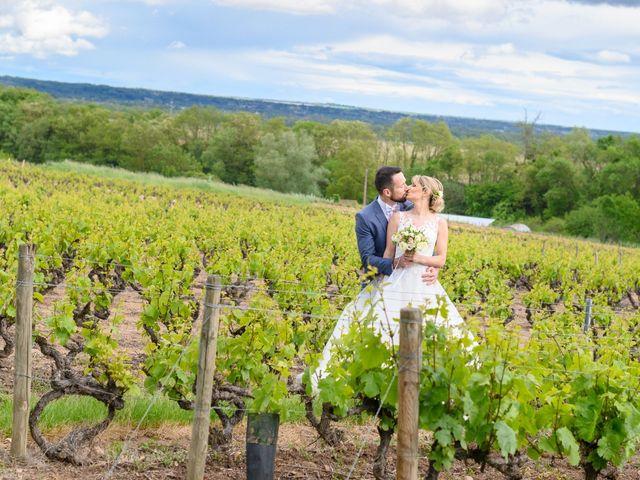Le mariage de Bastien et Clémentine à Fleurie, Rhône 38