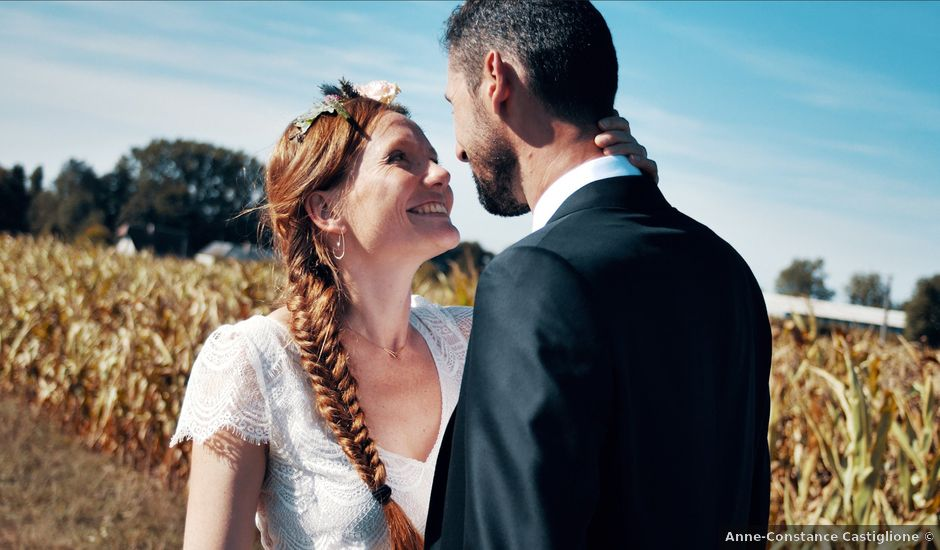 Le mariage de Fabien et Julie à Verneuil-sur-Avre, Eure