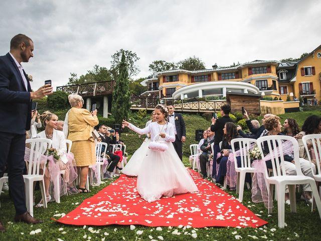 Le mariage de Thomas et Aurélie à Vulbens, Haute-Savoie 23