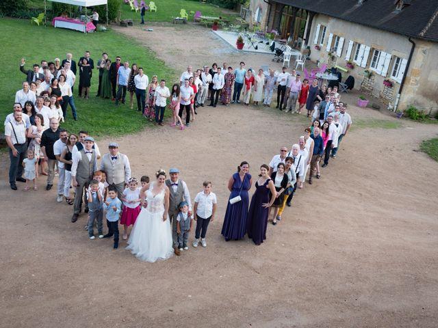 Le mariage de Loic et Camille à Anzy-le-Duc, Saône et Loire 15