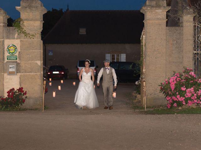 Le mariage de Loic et Camille à Anzy-le-Duc, Saône et Loire 19