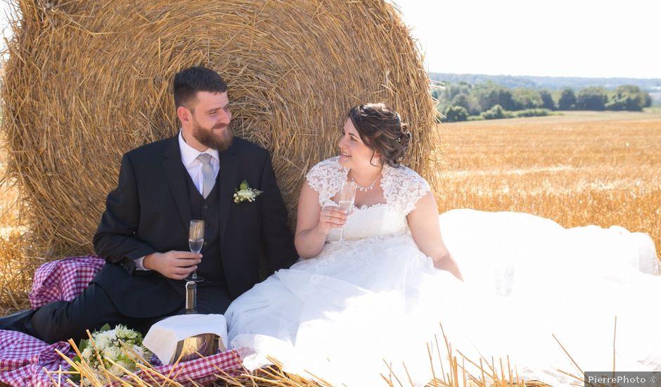 Le mariage de Loic et Mélanie à Longeville-lès-Saint-Avold, Moselle