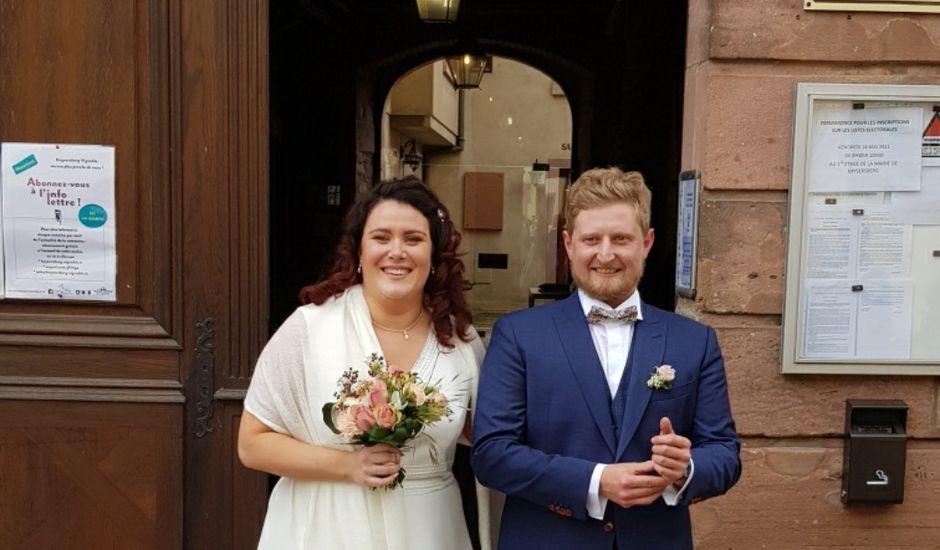 Le mariage de Wilfried et Marion à Ammerschwihr, Haut Rhin