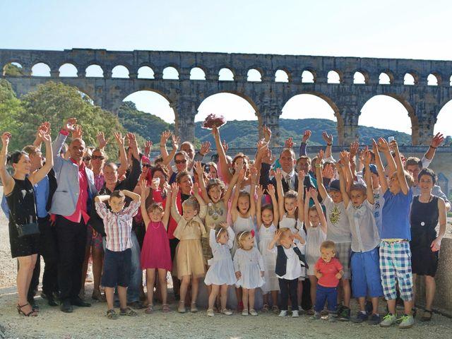 Le mariage de David et Claire à Nîmes, Gard 7