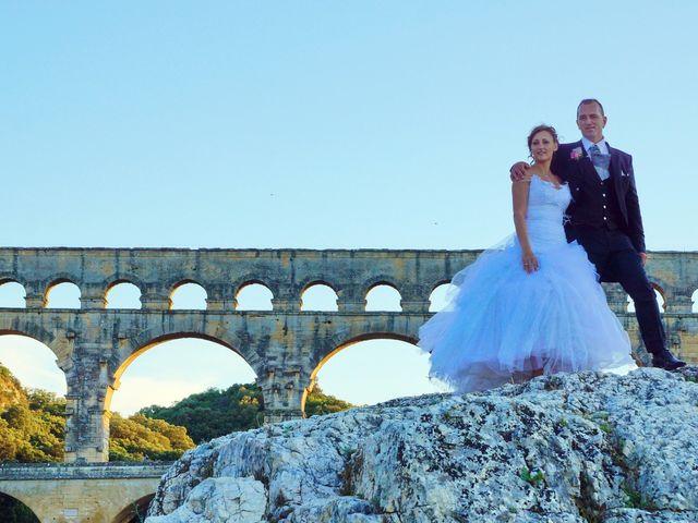Le mariage de David et Claire à Nîmes, Gard 15