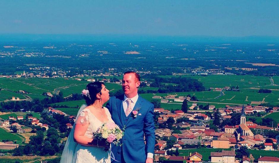Le mariage de Cormac et Sinead à Fleurie, Rhône