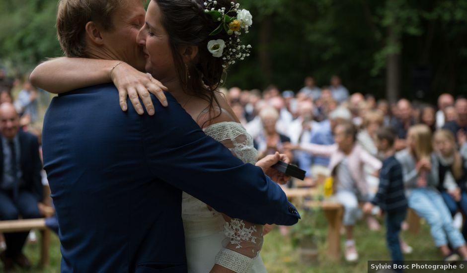 Le mariage de Olivier et Adeline à La Rouquette, Aveyron