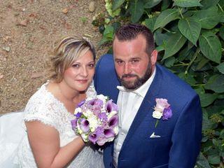 Le mariage de Laetitia  et Laet et greg