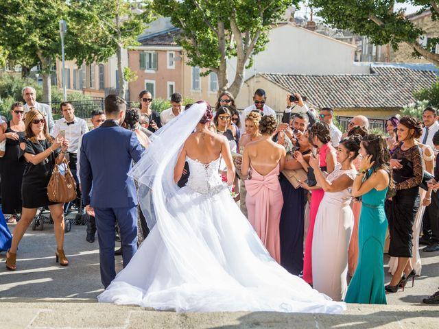 Le mariage de Anthony et Aurélie à Saint-Victoret, Bouches-du-Rhône 11