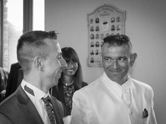 Le mariage de Jean Michel et Mickaël à Maxent, Ille et Vilaine 2
