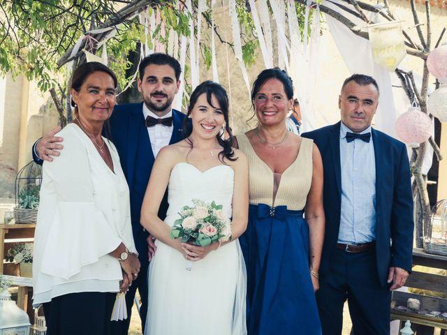 Le mariage de Max et Clémence à Puisserguier, Hérault 34