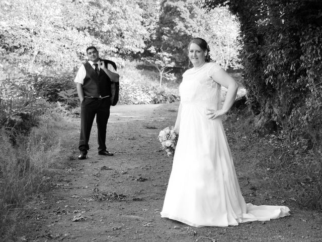 Le mariage de Johnny et Amélie  à Ambrières-les-Vallées, Mayenne 11