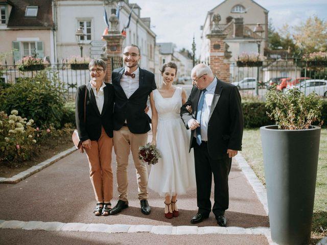 Le mariage de Fabien et Marie à Nogent-le-Roi, Eure-et-Loir 14