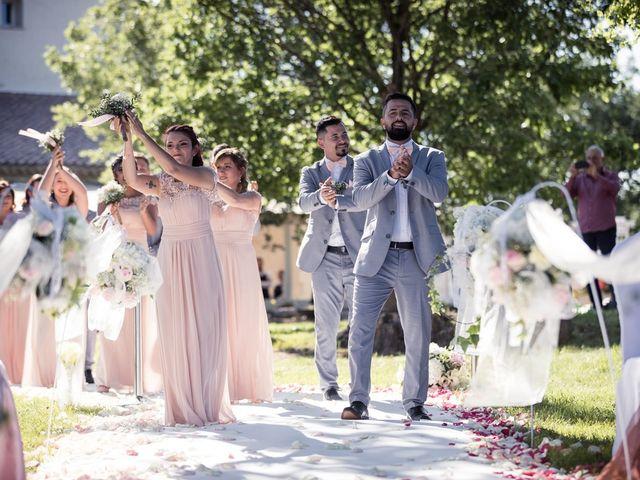 Le mariage de Sébastien et Floriane à Saint-Maximin-la-Sainte-Baume, Var 56