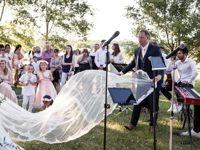 Le mariage de Sébastien et Floriane à Saint-Maximin-la-Sainte-Baume, Var 75