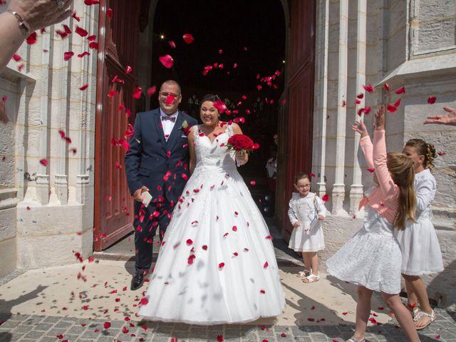 Le mariage de Nicolas et Jennifer à Bourg-Achard, Eure 1