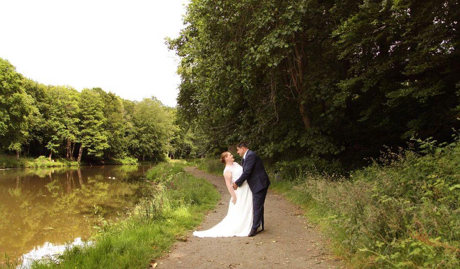 Le mariage de Johnny et Amélie  à Ambrières-les-Vallées, Mayenne