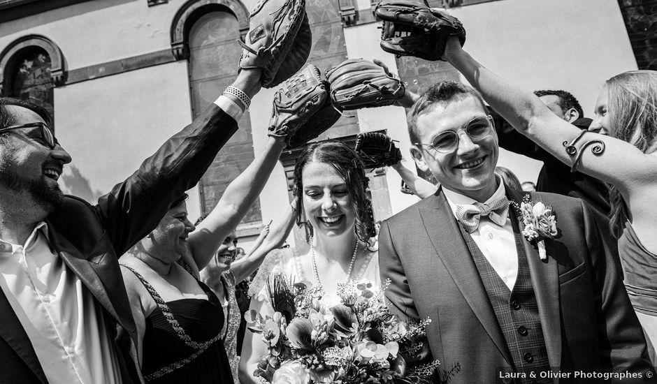 Le mariage de Ludovic et Alicia à Schweighouse-sur-Moder, Bas Rhin