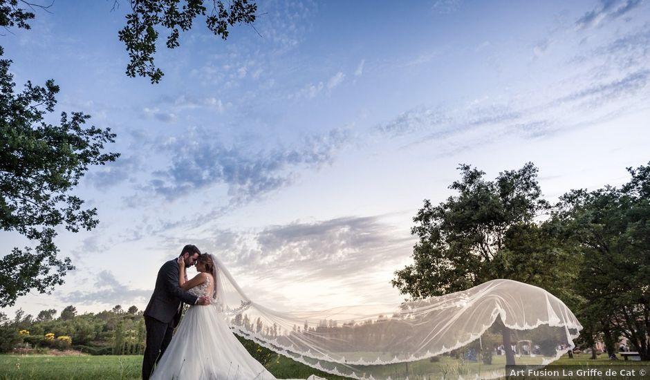 Le mariage de Sébastien et Floriane à Saint-Maximin-la-Sainte-Baume, Var