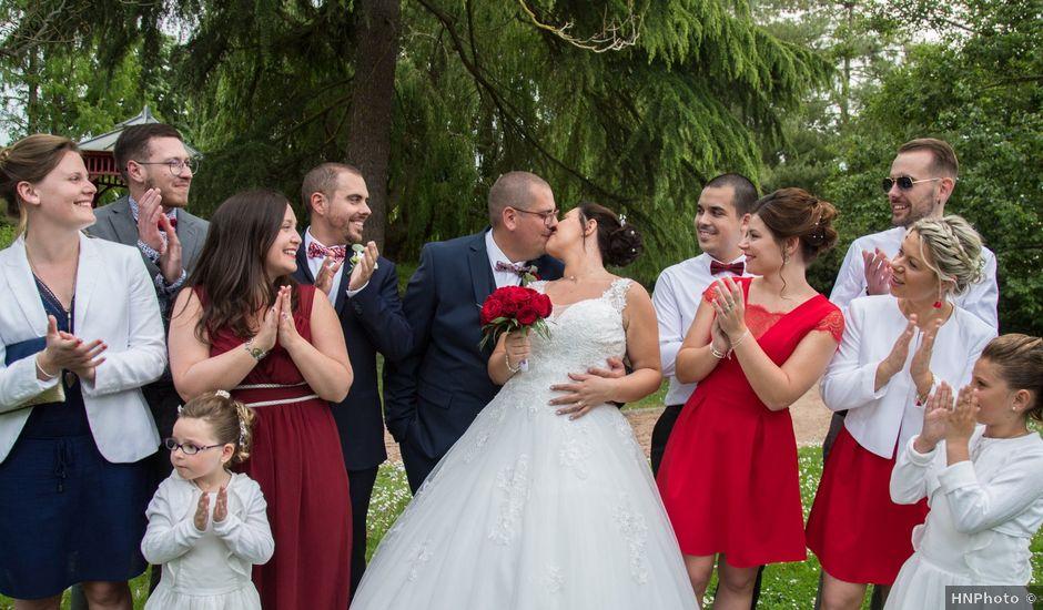 Le mariage de Nicolas et Jennifer à Bourg-Achard, Eure