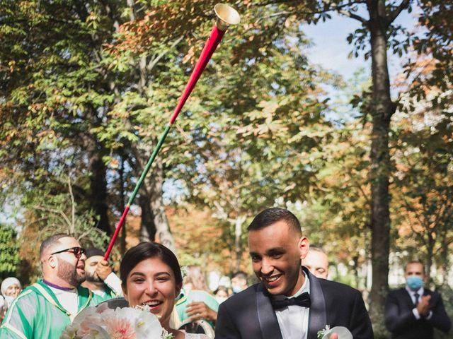 Le mariage de Abdallah et Amina à Senlisse, Yvelines 9