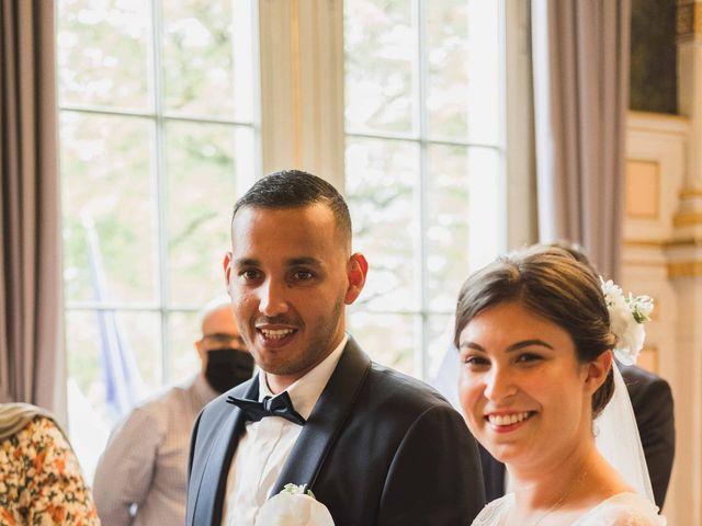 Le mariage de Abdallah et Amina à Senlisse, Yvelines 18