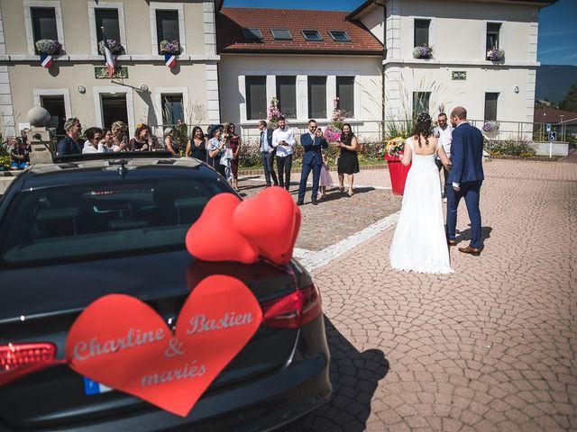 Le mariage de Bastien et Charline à Vétraz-Monthoux, Haute-Savoie 14