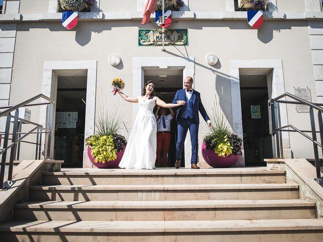 Le mariage de Bastien et Charline à Vétraz-Monthoux, Haute-Savoie 21