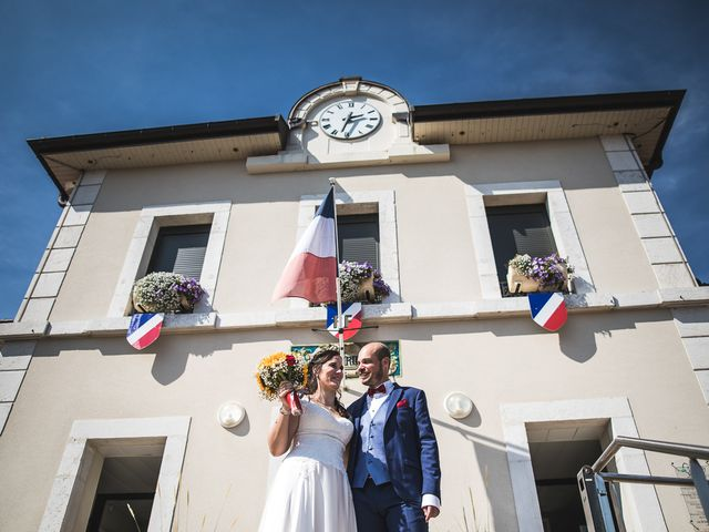 Le mariage de Bastien et Charline à Vétraz-Monthoux, Haute-Savoie 22