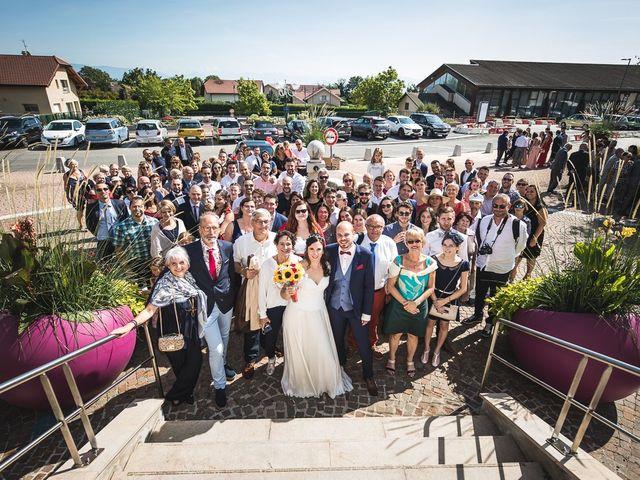 Le mariage de Bastien et Charline à Vétraz-Monthoux, Haute-Savoie 23