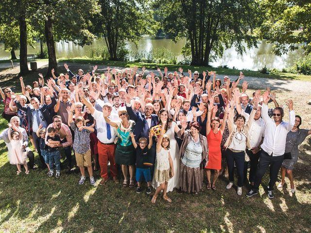 Le mariage de Bastien et Charline à Vétraz-Monthoux, Haute-Savoie 25