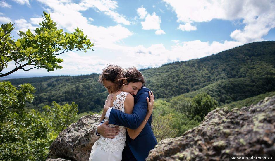 Le mariage de Damien et Laure à Wattwiller, Haut Rhin