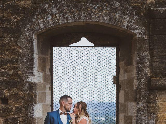 Le mariage de David et Jessica à Orange, Vaucluse 75