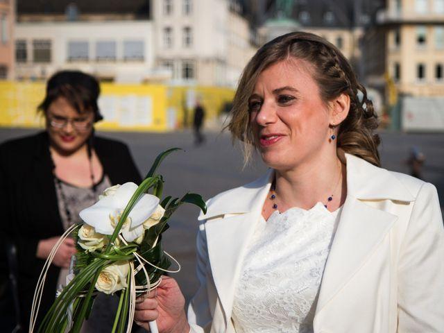 Le mariage de Vincent et Garance  à Thionville, Moselle 1