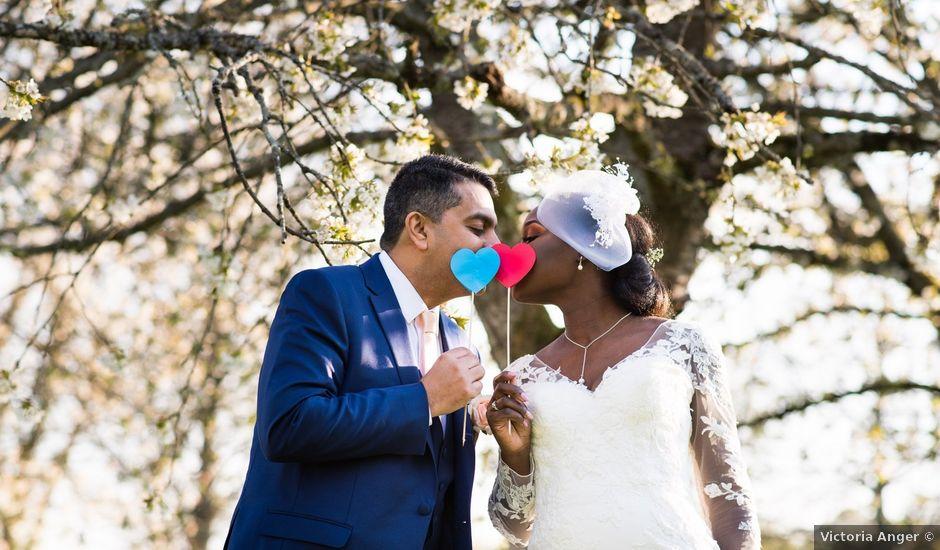 Le mariage de Shamir et Sarah à Yerres, Essonne